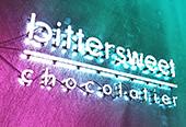 Bittersweet neon branding
